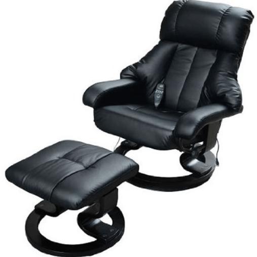 homcom fauteuil chauffant